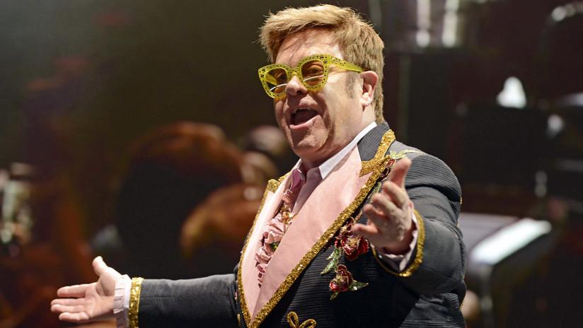 """Elton John tilda de """"estúpidos ingleses imperialistas"""" a los partidarios del Brexit"""
