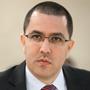 Jorge Arreaza, ministro de Relaciones Exteriores de Venezuela