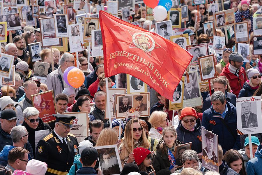 Putin preside desfile militar en aniversario victoria sobre la Alemania nazi