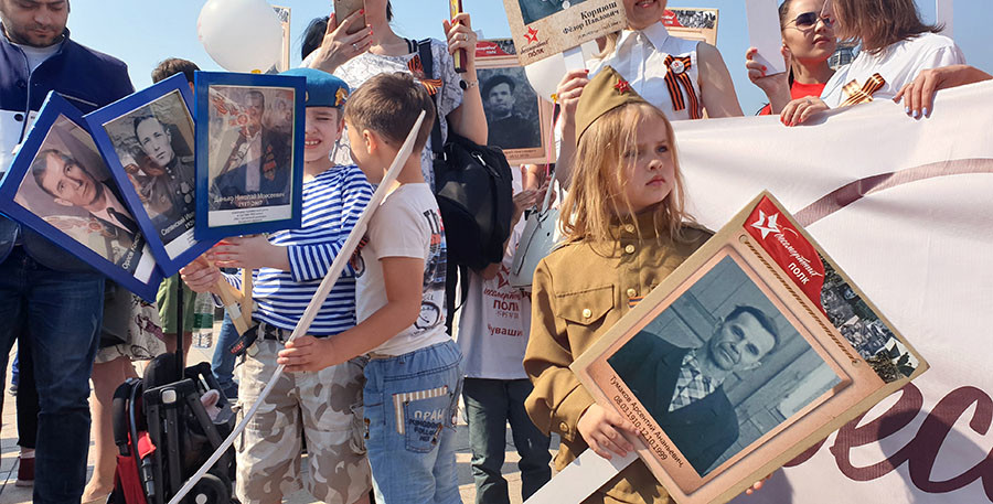 Presidente de Cuba recuerda Día de la Victoria y felicita a Rusia