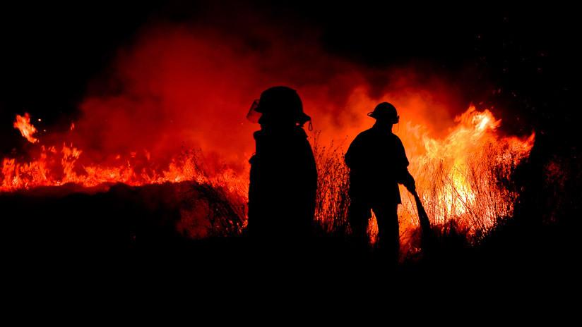 La NASA muestra imágenes de incendios forestales en México