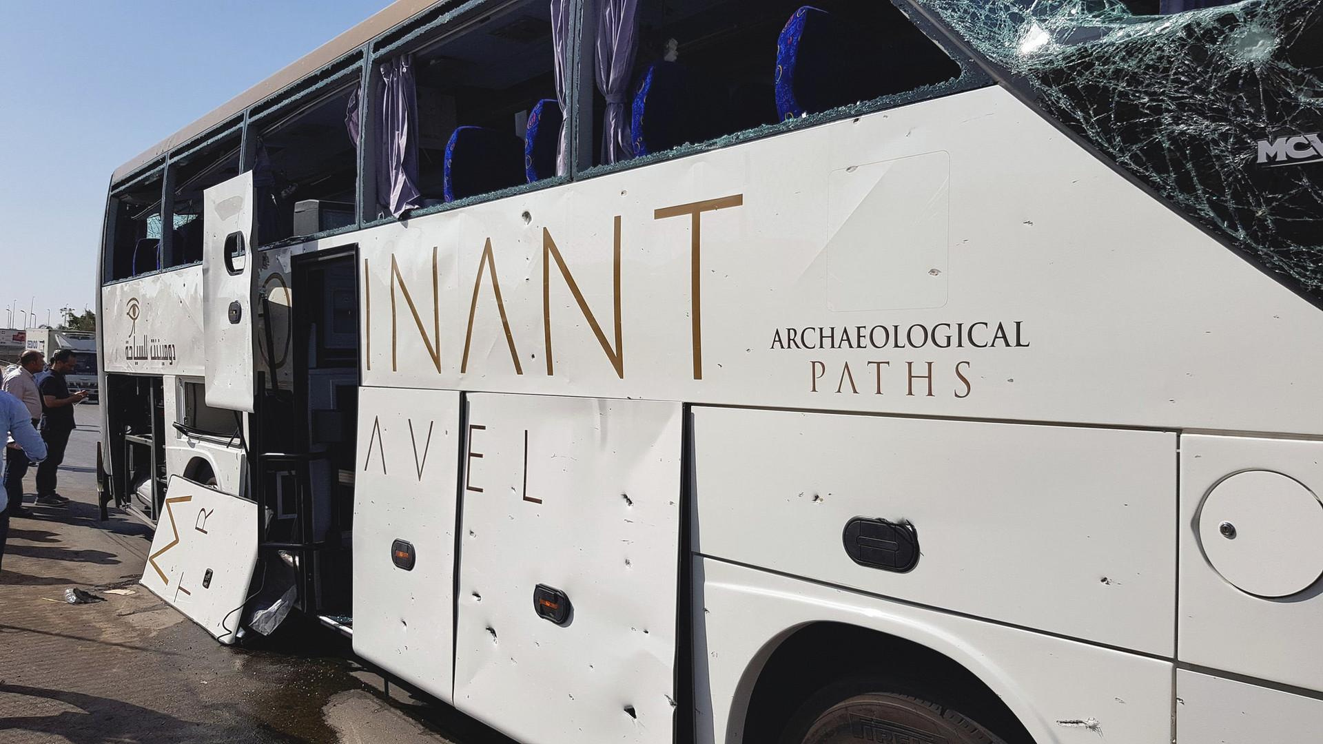 Al menos 17 heridos tras explosión de autobús con turistas en Egipto