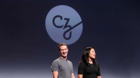 Mark Zuckerberg y Priscilla Chan durante una conferencia celebrada en San Francisco (California, EE.UU.), el 21 de septiembre de 2016.