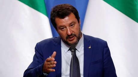 El ministro italiano de Interior, Matteo Salvini.
