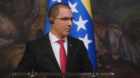 El ministro de Relaciones Exteriores venezolano, Jorge Arreaza.