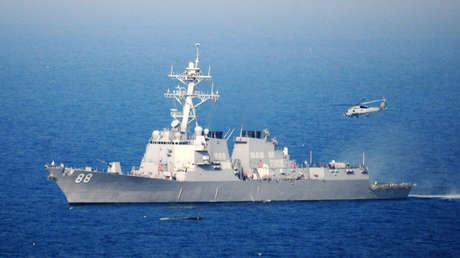 El USS Preble de la Armada estadounidense