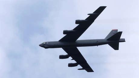 Un B-52 Stratofortress estadounidense