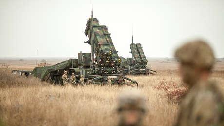 Sistema de defensa aérea MIM-104 Patriot.