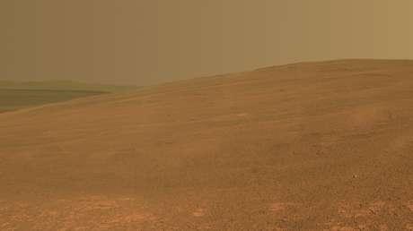 La superficie de Marte.
