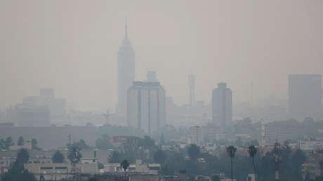 Vista parcial de la Ciudad de México, el 12 de mayo de 2019.