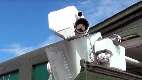 El sistema láser de combate ruso Peresvet.