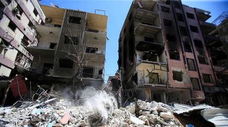 Duma, Siria, el 16 de abril de 2018.
