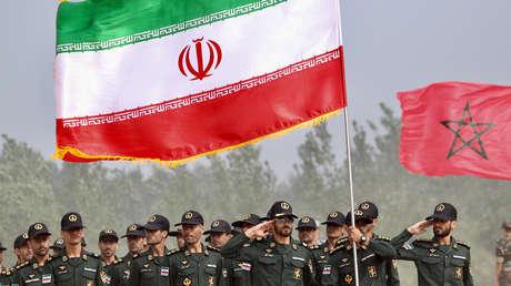 Soldados iraníes.