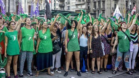 19F de 2019- Día por el derecho al aborto - Buenos Aires, Argentina.
