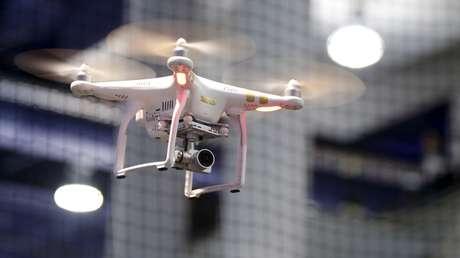 Un dron del fabricante chino DJI