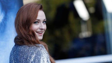 La actriz británica Sophie Turner, conocida por encarnar a Sansa Stark en la popular serie 'Juego de Tronos'