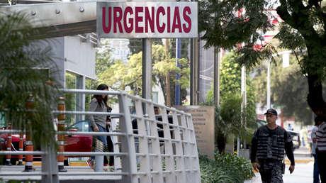 Exterior de un hospital en Guadalajara, México, 2 de enero de 2016.