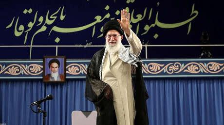 El líder supremo de Irán, el ayatolá Alí Jameneí, en Teherán, el 22 de mayo de 2019.
