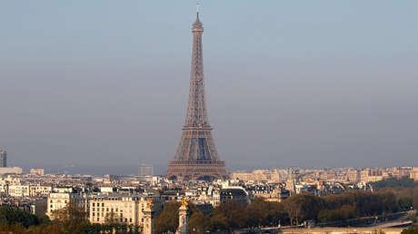 Panorámica de la ciudad de París, Francia.
