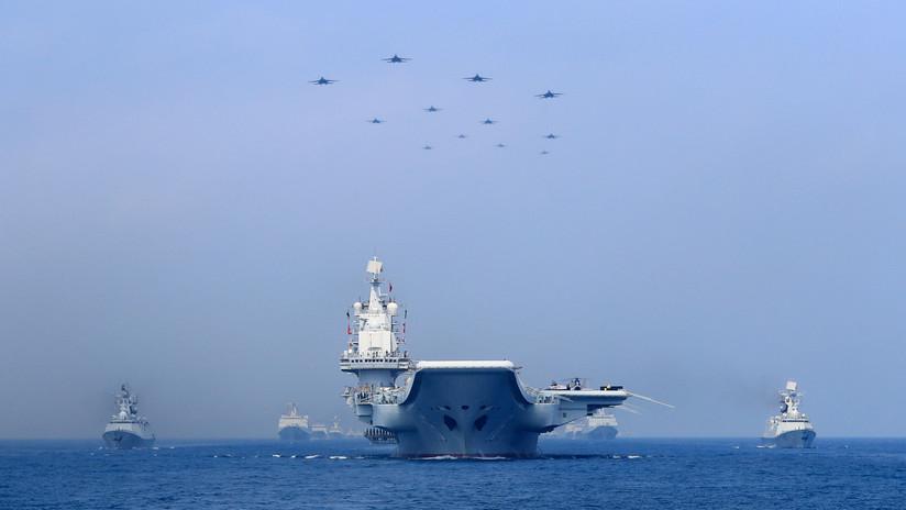 Pekín realiza ejercicios militares en el mar de la China Meridional