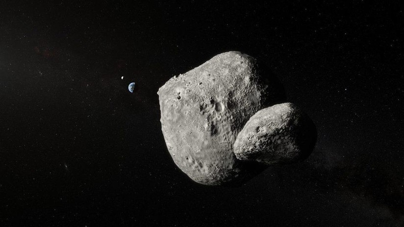 Captan una impresionante fotografía de un asteroide doble que pasó cerca de la Tierra