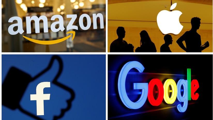 Amazon, Apple, Facebook y Google bajo la lupa en EU