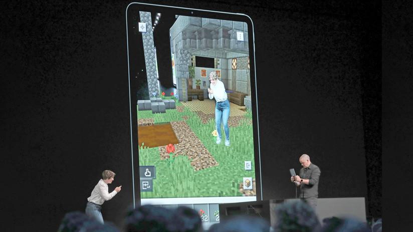 VIDEO: El videojuego 'Minecraft Earth' permitirá que el usuario se ubique dentro de la realidad aumentada