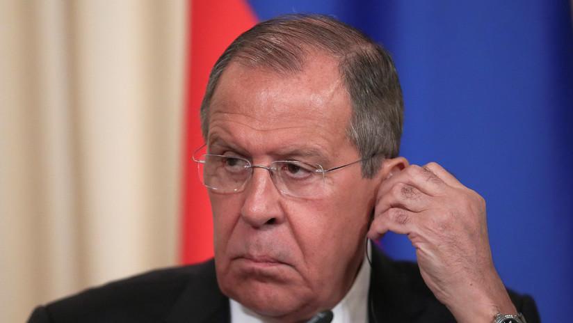 """""""Es obvio que es una noticia falsa"""": Lavrov pone en duda la calidad de los asesores de Trump tras el tuit sobre los expertos rusos en Venezuela"""