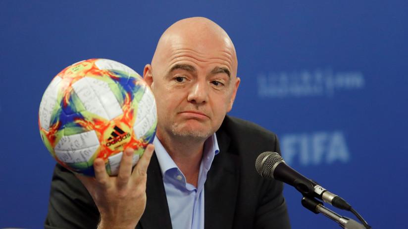 Gianni Infantino reelecto presidente de la FIFA