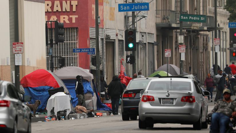 EE.UU.: Aumenta el número de personas sin techo en Los Ángeles mientras se agrava la crisis de vivienda asequible