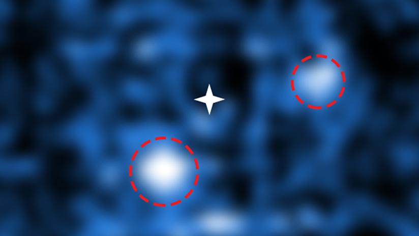 FOTO: Captan por primera vez dos exoplanetas que se forman alrededor de una joven estrella