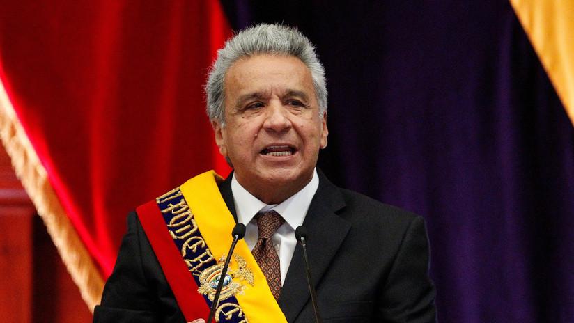 """Presidente de Ecuador pide investigar su campaña electoral tras señalamiento de """"financiamiento ilícito"""""""