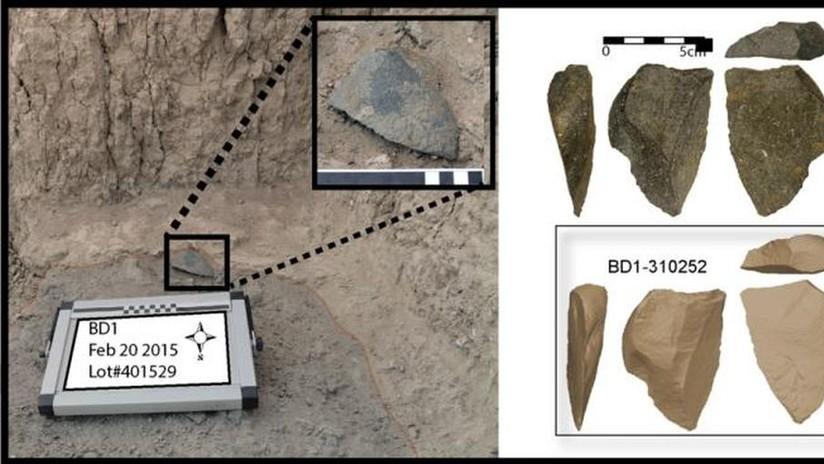 Hallan antiguas herramientas que obligan a replantear lo que se sabía de la industria de piedra de los primeros humanos