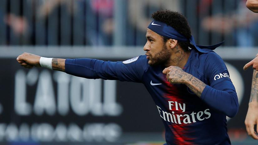 El futbolista brasileño Neymar Jr.