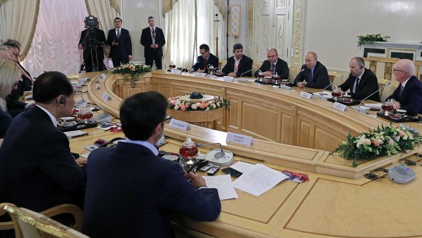 """Putin: """"Ni siquiera los aliados de EE.UU. apoyan la intervención militar en Venezuela, que sería una catástrofe"""""""