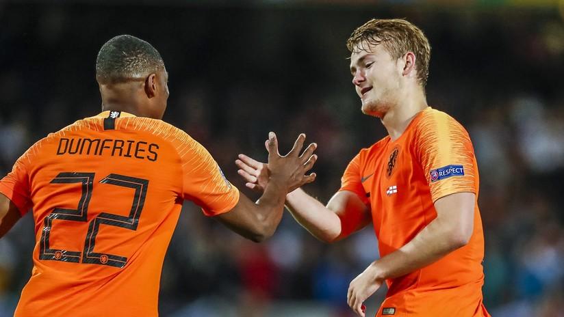 La selección holandesa clasifica a la final de la Liga de las Naciones de la UEFA y se enfrentará a Portugal