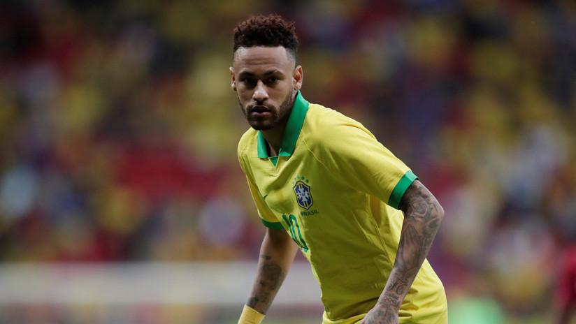 FOTO: Neymar muestra una impactante imagen de la lesión que lo dejó fuera de la Copa América 2019