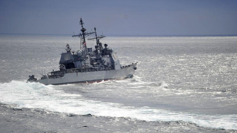 Un buque de EE.UU. se cruza en el trayecto de un barco ruso en el mar de la China Oriental