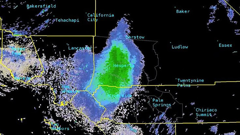 Un radar meteorológico detecta una gigantesca y extraña 'nube' en el cielo (y no era ni lluvia ni tormenta)