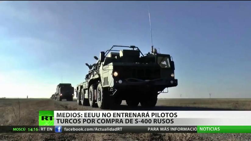 EE.UU. no entrenaría a pilotos turcos para el caza F-35 si Ankara no para la compra de sistemas S-400