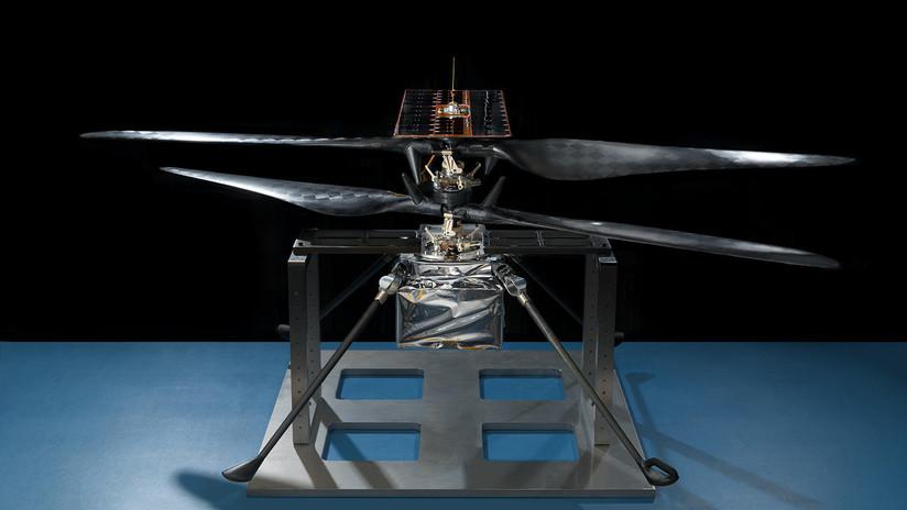 VIDEO: El primer helicóptero marciano de la NASA está casi listo para volar en el planeta rojo