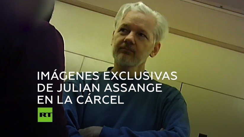 Video exclusivo de Julian Assange dentro de la prisión de Belmarsh, Guantanamo británica