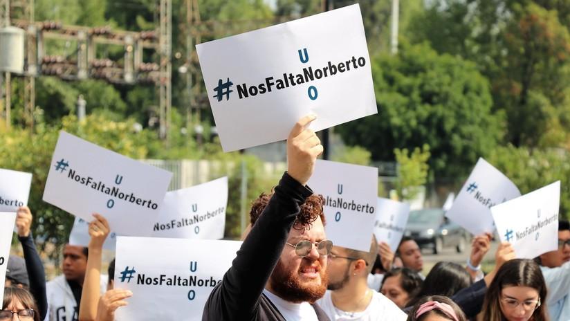 #NosFaltaNorberto: El secuestro de un estudiante universitario levanta la indignación en México