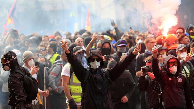 Los 'chalecos amarillos' protestan en varias ciudades de Francia por 30.�ª semana consecutiva