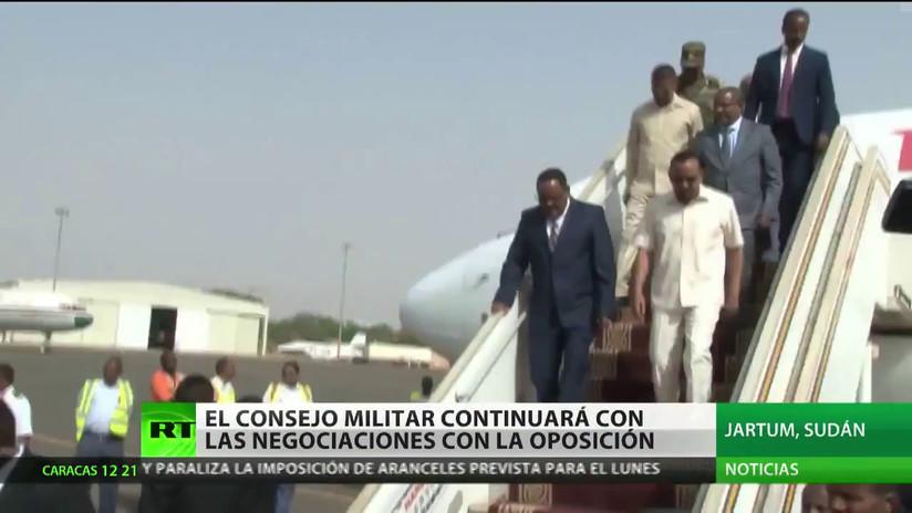 El Consejo Militar de Sudán continuará las negociaciones con la oposición