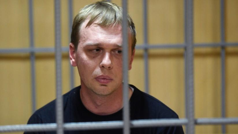 Dictan arresto domiciliario para el periodista de investigación Iván Golunov detenido en Moscú