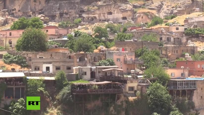 VIDEO: Las últimas imágenes de la ciudad turca de 12.000 años que será inundada