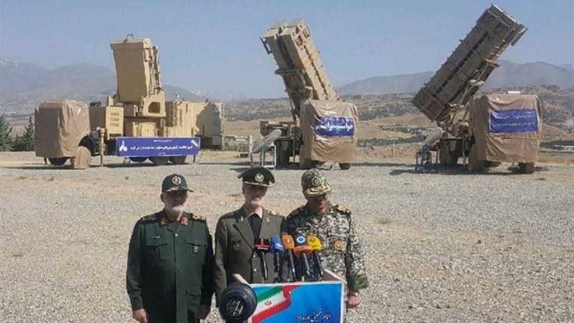 """Irán presenta un nuevo sistema antimisiles para destruir """"objetivos invisibles"""""""