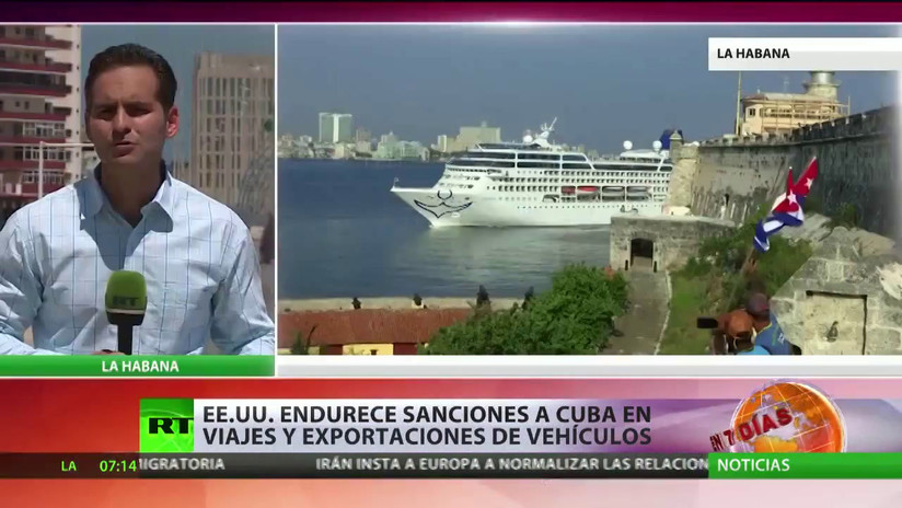 EE.UU. endurece las sanciones a Cuba con más prohibiciones en el turismo y las exportaciones