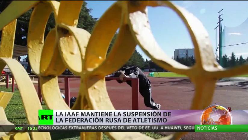 La Federación Internacional de Atletismo mantiene la suspensión de deportistas rusos
